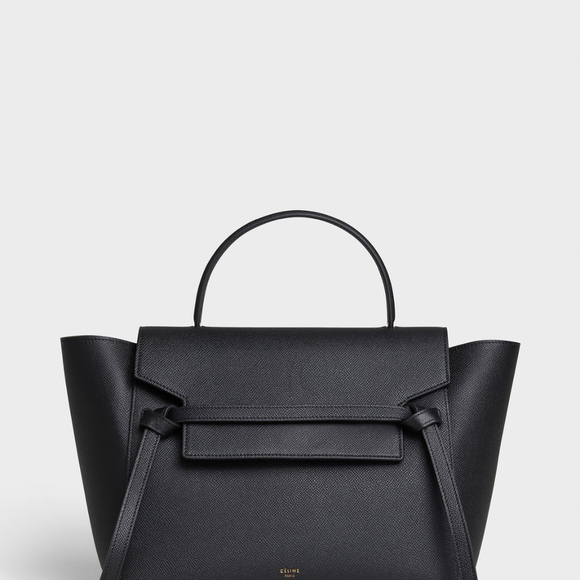 6983564dfdf Celine Bags   Mini Belt Bag In Grained Calfskin   Poshmark